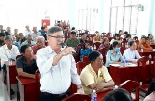 Tiếp xúc cử tri 2 xã Tiên Thuận, Long Khánh (Bến Cầu)