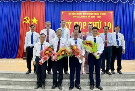 Ông Lê Ngọc Ẩn được bầu giữ chức Chủ tịch UBND huyện Châu Thành