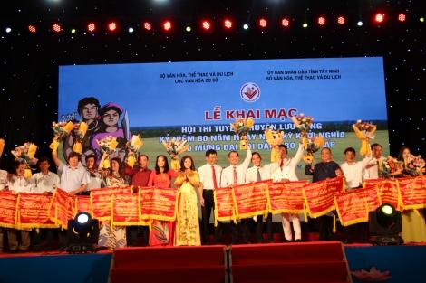 Khai mạc Hội thi tuyên truyền lưu động kỷ niệm 80 năm Ngày Nam kỳ khởi nghĩa