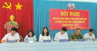 Ông Nguyễn Thành Tâm tiếp xúc cử tri phường Hiệp Ninh (TP. Tây Ninh)