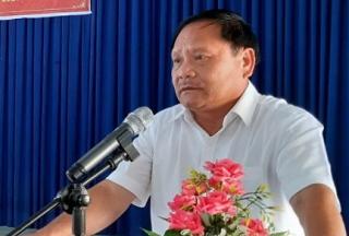 Tiếp xúc cử tri hai xã Long Chữ, Long Thuận (Bến Cầu)