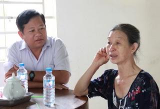 Thăm nạn nhân, gia đình có nạn nhân tử vong do tai nạn giao thông trên địa bàn huyện Tân Biên