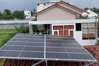 Bảo đảm an toàn PCCC đối với hệ thống điện mặt trời mái nhà