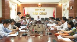 Khảo sát công tác tiếp công dân và giải quyết khiếu nại tố cáo tại huyện Tân Châu