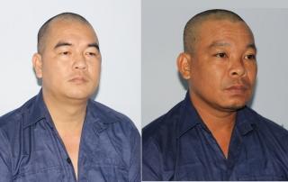 Công an thị xã Hòa Thành bắt giữ các bị can trốn lệnh truy nã