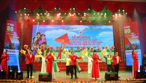 Tây Ninh đạt 3 HCV, 2 HCB tại hội diễn tuyên truyền lưu động toàn quốc