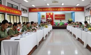 Bộ Công an làm việc với Công an Tây Ninh