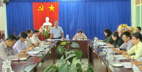 Kiểm tra tiến độ thực hiện Chương trình Mục tiêu Quốc gia xây dựng nông thôn mới tại TP. Tây Ninh