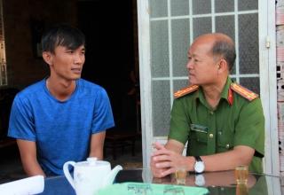Thăm gia đình nạn nhân tử vong do tai nạn giao thông trên địa bàn huyện Châu Thành