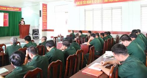 BĐBP tập huấn nghiệp vụ cứu hộ và quân sự cho các đơn vị cơ sở