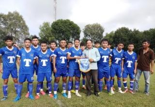 Giải bóng đá vô địch U18 huyện Gò Dầu năm 2020: U18 Thị trấn gặp U18 Phước Đông
