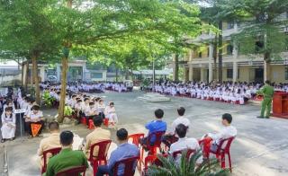 Tân Châu tuyên truyền luật giao thông đường bộ và phòng chống tác hại của ma túy trong trường học
