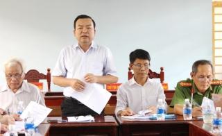 Khảo sát công tác phòng chống tội phạm, hoạt động kiểm sát, xét xử và thi hành án tại huyện Tân Châu