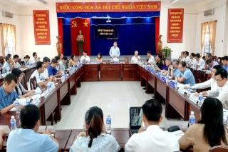 UBND huyện Bến Cầu họp phiên thường kỳ tháng 11.2020