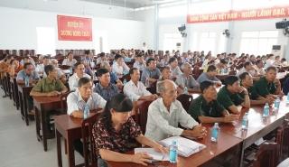 Đại biểu Quốc hội tiếp xúc cử tri huyện Dương Minh Châu
