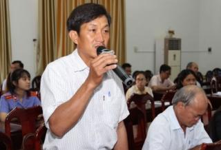 ĐBQH Hoàng Đình Chung tiếp xúc cử tri huyện Châu Thành