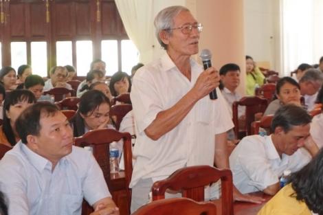 Ðại biểu Quốc hội tỉnh Tây Ninh: Tiếp xúc cử tri các địa phương