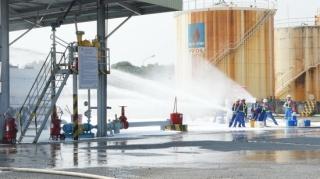 Tây Ninh: Diễn tập ứng phó sự cố tràn dầu cấp tỉnh