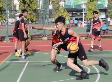 Tổ chức Giải bóng rổ 3x3 mở rộng tỉnh Tây Ninh lần I