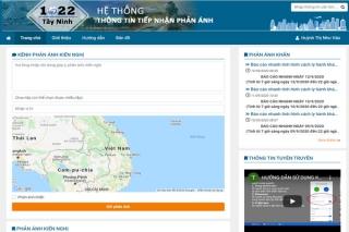 1022 Tây Ninh: Bạn phản ánh-chúng tôi xử lý