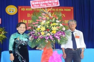 Đại hội Đại biểu Hội Người tù kháng chiến Thị xã Hòa Thành lần thứ IV