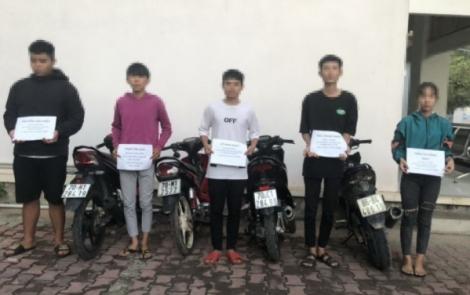 Công an TP.Tây Ninh: Giải tán nhóm thanh thiếu niên tụ tập đua xe trái phép