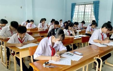 Châu Thành tổ chức kỳ thi học sinh giỏi lớp 9 vòng huyện