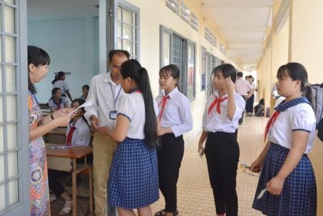Huyện Tân Châu khai mạc kỳ thi chọn học sinh giỏi lớp 9 vòng huyện năm học 2020-2021