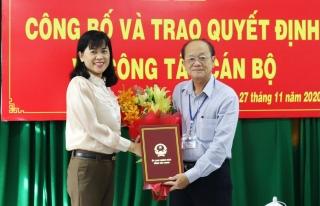 Bác sĩ Nguyễn Văn Cường được giao nhiệm vụ phụ trách Sở Y tế