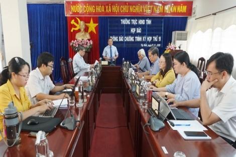 Kỳ họp thứ 19 của HĐND tỉnh, nhiệm kỳ 2016 – 2021: Dự kiến diễn ra từ ngày 8- 10.12.2020