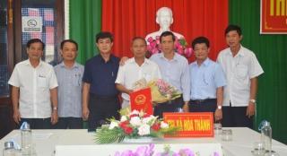 Trao quyết định nghỉ hưu cho Phó Chủ tịch HĐND thị xã Hòa Thành