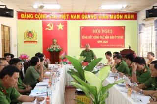 Công an Tây Ninh tổng kết công tác bảo đảm trật ATGT năm 2020