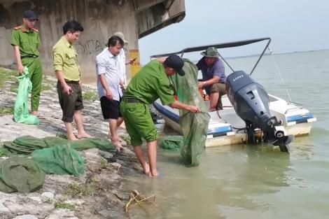 Chấn chỉnh tình trạng khai thác thuỷ sản kiểu tận diệt tại hồ Dầu Tiếng