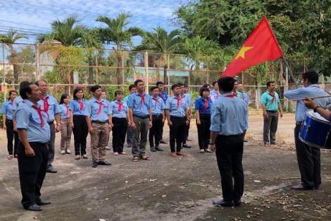 Huyện Dương Minh Châu: Tập huấn nghiệp vụ công tác Đội năm học 2020-2021