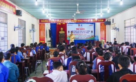 Tập huấn kiến thức an toàn giao thông tại huyện Tân Châu