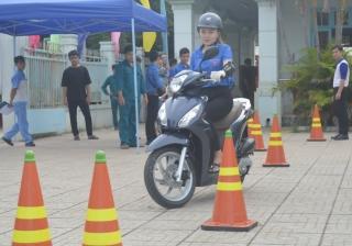Hòa Thành: Tập huấn kỹ năng lái xe an toàn cho đoàn viên, thanh niên