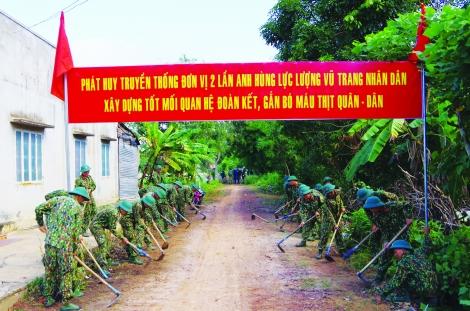Thực hiện tốt công tác chính sách hậu phương quân đội