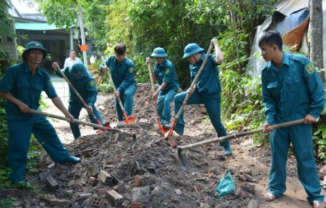 LLVT tỉnh: Luôn gắn kết tình quân – dân