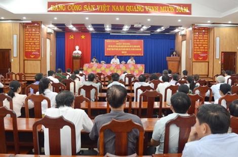 Tân Châu tiếp xúc, đối thoại giữa chính quyền và nhân dân năm 2020