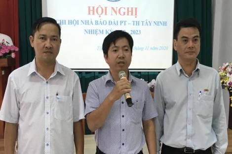 Hội nghị Chi hội Nhà báo Đài PTTH Tây Ninh, nhiệm kỳ 2020-2023