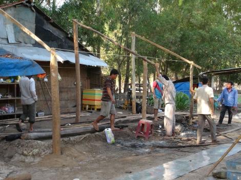 Nhiều trường hợp vi phạm xây dựng công trình, trồng rừng  trái phép trên đảo Nhím