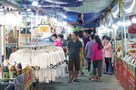 Khai mạc phiên chợ hàng Việt về nông thôn tại huyện Dương Minh Châu