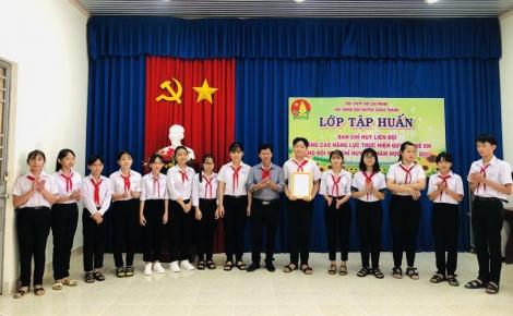 Châu Thành tập huấn Ban Chỉ huy Liên đội, năm học 2020 – 2021