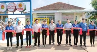 Trảng Bàng: Khánh thành sân chơi dành cho thiếu nhi tại phường Lộc Hưng