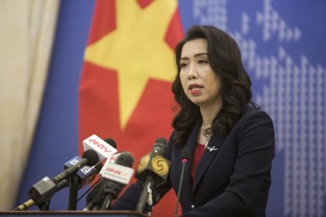Việt Nam yêu cầu Đài Loan không được tập trận trái phép ở Trường Sa