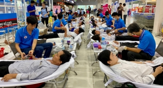 Năm 2020: 15/15 xã, thị trấn của huyện Châu Thành không đạt chỉ tiêu hiến máu nhân đạo