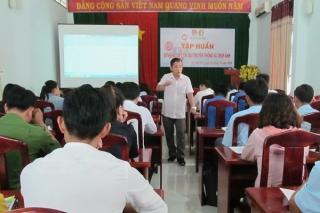 TP. Tây Ninh: Tổ chức lớp tập huấn kỹ năng viết tin, bài và chụp ảnh