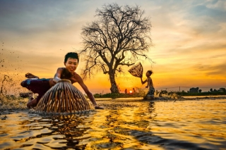 Tây Ninh mùa nước lớn