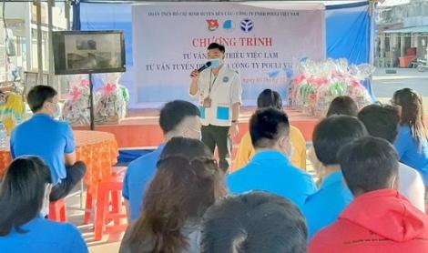 Huyện Bến Cầu : Tư vấn việc làm cho 50 thanh niên trên địa bàn