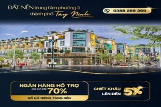 Thành phố Tây Ninh: Bất động sản thu hút đầu tư cuối năm 2020